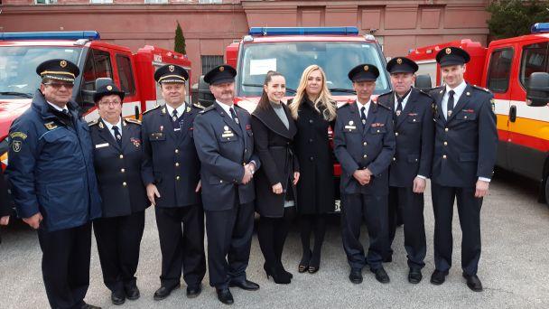 Slávnostné preberanie nového hasičského vozidla IVECO